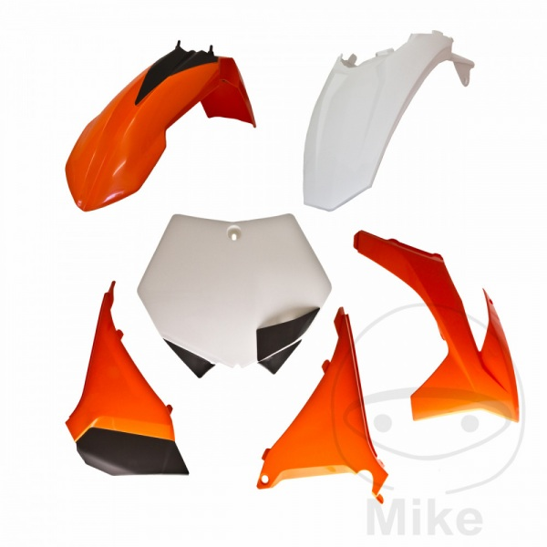 Complete plastics kit orange