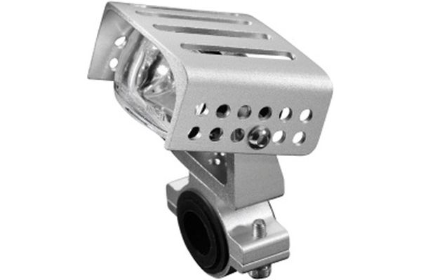 HIGHWAY HAWK Scheinwerfer HIGH TECH, silber Lampe Licht