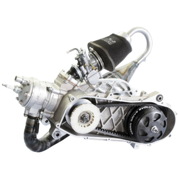 racing engine Polini Evolution P.R.E. 100cc 50mm for Piaggio Zip SP, Zip 2 SP with drum brakes 050.0950