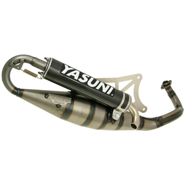 exhaust Yasuni Scooter R carbon for Piaggio YA420C
