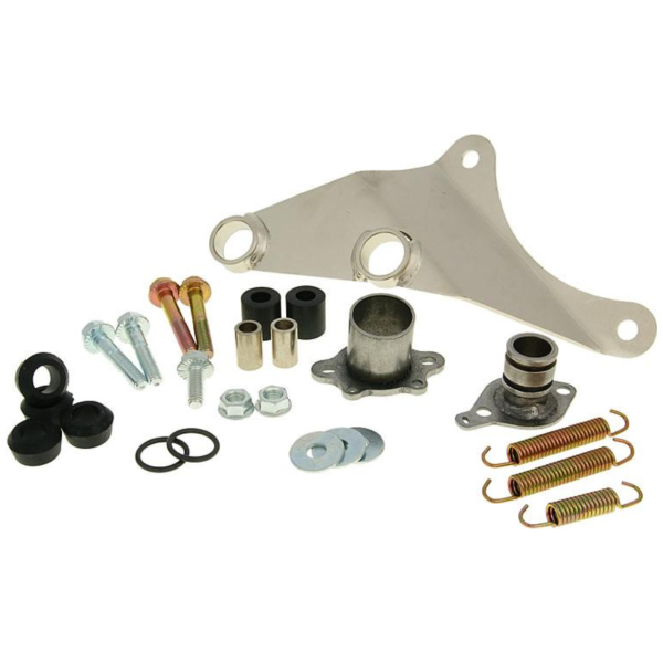 exhaust Yasuni Carrera 16 mounting kit complete for Piaggio YAZ-BSP423R