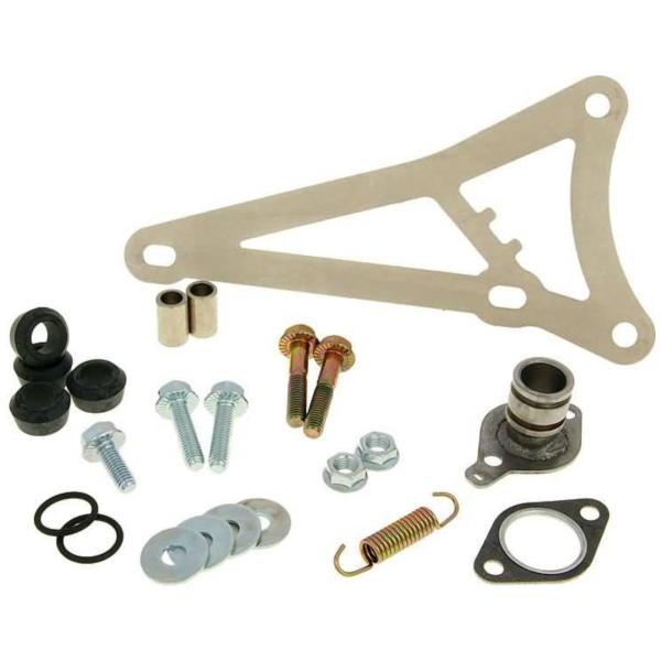 exhaust Yasuni R mounting kit complete for Minarelli horizontal YAZ-BSP902R