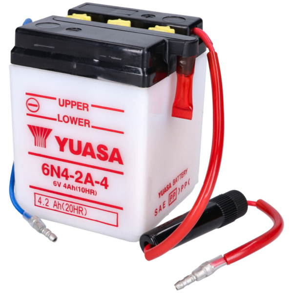 battery Yuasa 6N4-2A-4 w/o acid pack YS36204