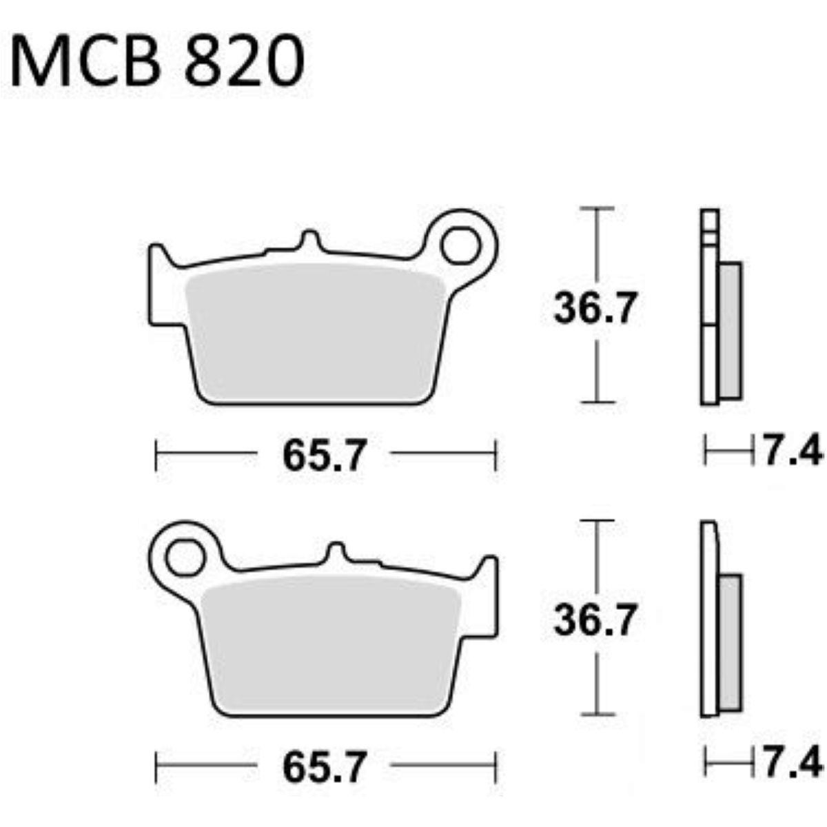 EBC Bremsklotz Semi-Sinter V FA192V