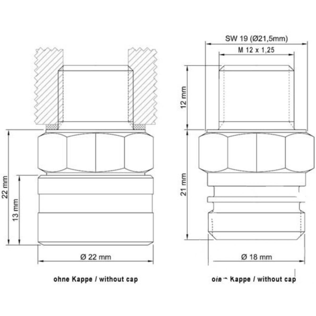 Magnetic Oil Drain Sump Plug JMP Kawasaki Z 750 R 2011 to 2013
