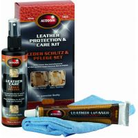 Leather cleaner & care set