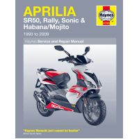 Haynes repair manual 4755 für Aprilia SR Street 50 TEA00 2007, 3,7 PS, 2,7 kw