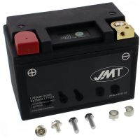 Motorcycle Battery LTM21 JMT Lithium-Ionen with Anze für Kawasaki VN Classic 1500 VNT50NNA 2002, 65/34 PS, 48/25 kw