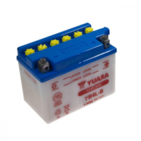 Motorcycle Battery YB4L-B YUASA für Aprilia SR Street 50 TEA00 2007, 3,7 PS, 2,7 kw