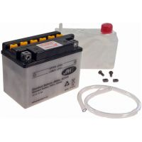 Motorcycle Battery YB4L-B (5AH) JMT für Aprilia SR Street 50 TEA00 2007, 3,7 PS, 2,7 kw