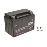 Motorcycle Battery YB4L-B 5A GEL JM für Aprilia SR Street 50 TEA00 2007, 3,7 PS, 2,7 kw