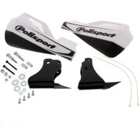 Hand guard mx rocks white 8306400043 für Yamaha YZ  250 CG18C 2004, 42 PS, 31 kw
