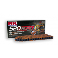 Rk racing chain orange 520 mxz4 112 left für Yamaha YZ  250 CG18C 2004, 42 PS, 31 kw