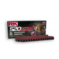 Rk racing chain red 520 mxz4 112l für Yamaha YZ  250 CG18C 2004, 42 PS, 31 kw