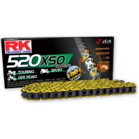 Rk x-ring chain yellow 520xso/114 für Aprilia RXV  450 VPH00 2007, 17 PS, 12,5 kw