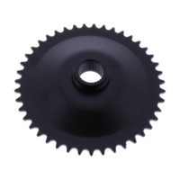Rear sprocket 42 tooth pitch 415 black 501200342
