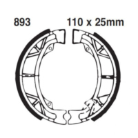 Brake shoes rear excluding springs ebc 893 für Aprilia Gulliver  50 LH040 1998-1999, 4,3 PS, 3,2 kw (hinten)