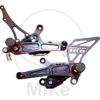 Rear set kit aluminium MCF107RAC