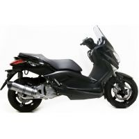 Silencer leovince sbk stainless lv one ii 8519E für Yamaha YP X-Max 250 SG221 2010, 21,2 PS, 15,6 kw