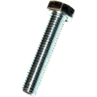 Hex bolt m4x30 din933 plated steel