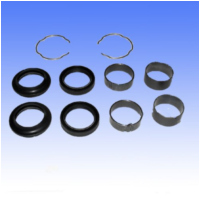 Fork repair kit including retaining ring FRK9102 für Kawasaki VN Classic 1500 VNT50NNA 2002, 65/34 PS, 48/25 kw