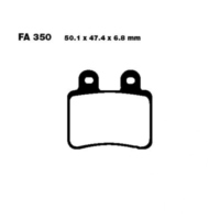 Brake pads scooter sintered hh ebc SFA350HH