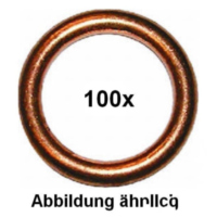 Exhaust sealing ring 6x10x1.5