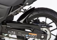 Rear hugger - matt black KAWASAK...