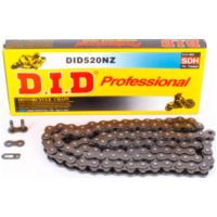 D.I.D reinforced chain NZ, 520, 112 with clip lock / usable for offroad drive up to 74kW (100HP) / up to 1000cc für Yamaha YZ  250 CG18C 2004, 42 PS, 31 kw