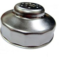Oil filter wrench 80mm 14 side