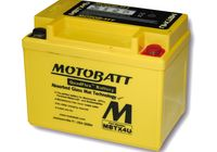 MOTOBATT battery MBTX4U für Aprilia SR Street 50 TEA00 2007, 3,7 PS, 2,7 kw