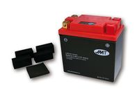 Lithium-Ion battery HJB12-FP with indicator für Yamaha XV Virago 125 5AJ 1997, 10,3 PS, 7,6 kw