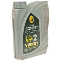 engine oil Vision full synthetic 2-stroke 1 liter 10198 für Benelli 491 Replica 50 ND0200P 2003, 2,7 PS, 2 kw