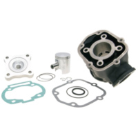 cylinder kit Polini cast iron sport 50cc for Piaggio / Derbi engine D50B0 109.0018 für Aprilia SX  50 PVE00 2010, 4,9 PS, 3,6 kw