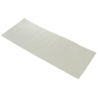 adhesive aluminized fiberglass cloth heat barrier / protection tape 1.60x195x475mm 19020