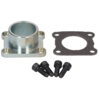 exhaust manifold flange Polini aluminum racing for Vespa PX, TS, Sprint, LML Star 125-150cc 216.0021