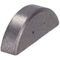 woodruff key Buzzetti 12x3x5mm for Piaggio, Minarelli, Morini 23920 für Aprilia SR Street 50 TEA00 2007, 3,7 PS, 2,7 kw
