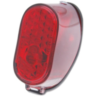 tail light assy oval for Puch MS, MV, Maxi 34411