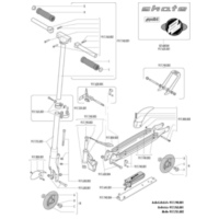 steering axis for Polini Skate City Roller 917.630.003