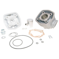 cylinder kit Airsal sport 50cc 39.9mm cast iron for Piaggio / Derbi engine D50B0 AS25257 für Aprilia SX  50 PVE00 2010, 4,9 PS, 3,6 kw