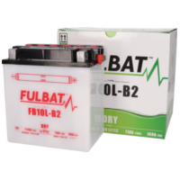 battery Fulbat FB10L-B2 DRY incl. acid pack FB550557