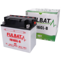 battery Fulbat FB16CL-B DRY incl. acid pack FB550579