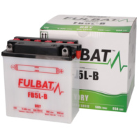 battery Fulbat FB5L-B DRY incl. acid pack FB550591