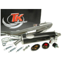exhaust Turbo Kit Road RQ chrome for Yamaha TZR 50 all models H10022-Q