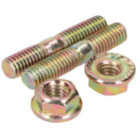 exhaust stud bolt set incl. nuts - M6x32mm IP13864 für Aprilia SR Street 50 TEA00 2007, 3,7 PS, 2,7 kw