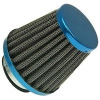 air filter Power 38mm carburetor connection blue IP14185 für Benelli 491 Replica 50 ND0200P 2003, 2,7 PS, 2 kw