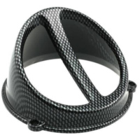 fan spoiler Air Scoop carbon-look - universal IP15104 für Benelli 491 Replica 50 ND0200P 2003, 2,7 PS, 2 kw