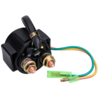 starter solenoid / relay universal for vehicles up to 250cc IP34641 für SYM GTS Joymax 125 LM12W-6 2006-2008, 12,4 PS, 9,1 kw
