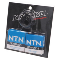crankshaft bearings Naraku heavy duty left and right incl. oil seals for Morini NK100.69 für Benelli 491 Replica 50 ND0200P 2003, 2,7 PS, 2 kw