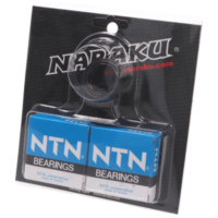 crankshaft bearings Naraku heavy duty left and right incl. oil seals for Minarelli AM NK100.80 für Rieju MRT Pro 50  2009-2010, 2,2/6,25 PS, 1,6/4,6 kw